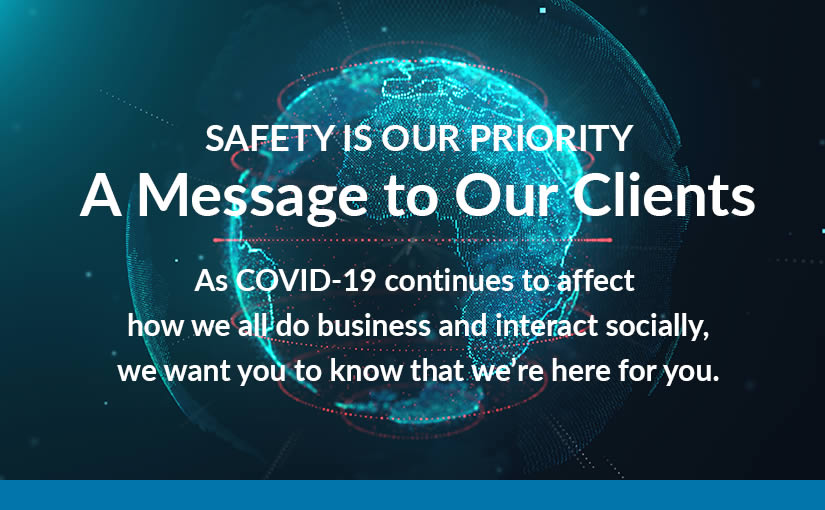 A Message to Our Clients