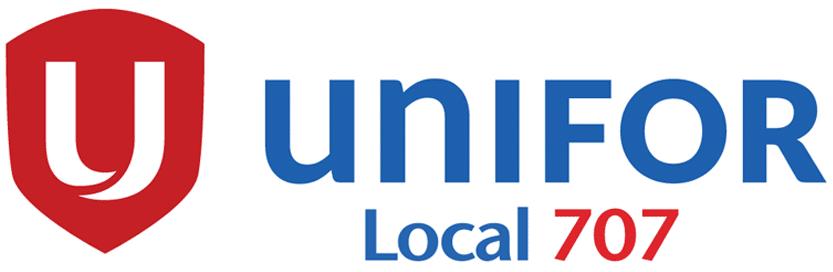 Unifor Local 707 logo