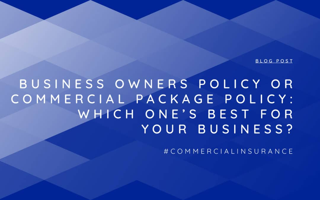 business owners policy header